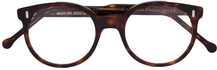 Cutler & Gross round frame glasses