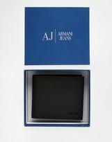 Armani Jeans Leather Billfold Wallet
