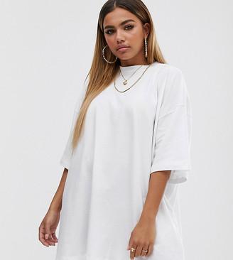 Asos DESIGN Petite oversized tshirt dress