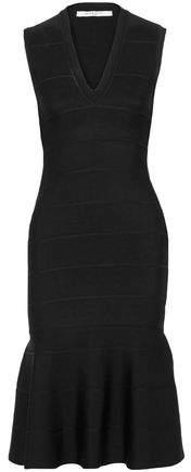 Givenchy Fluted Stretch-Knit Dress