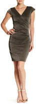 Nicole Miller Side Tuck Dress
