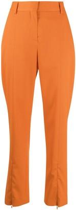 MM6 MAISON MARGIELA High-Waisted Straight-Leg Trousers