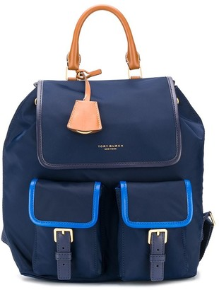 Tory Burch Perry colour-block backpack