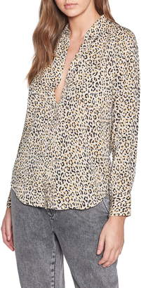 Current/Elliott The Derby Leopard Shirt