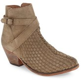 Free People Women's 'Venture' Woven Leather Bootie