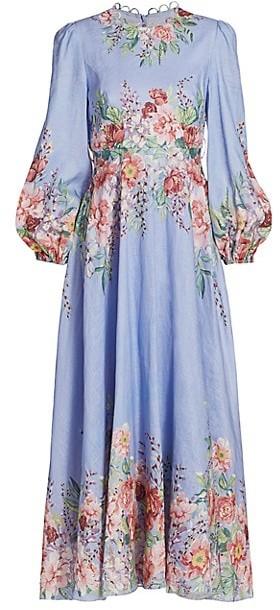 Zimmermann Bellitude Flora Maxi Dress