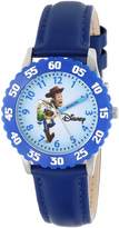 "Disney Kids' W000062 Toy Story 3 ""Woody"" Stainless Steel Time Teacher Watch"