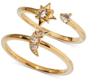 AVA NADRI 2-Pc. Set Crystal Celestial Ring Set