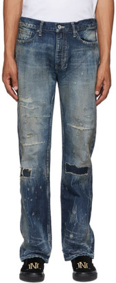 Neighborhood Indigo Bullet Savage Mid Jeans