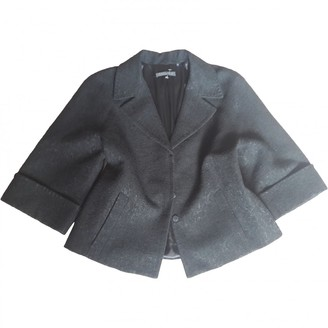 Elie Tahari Black Wool Jacket for Women