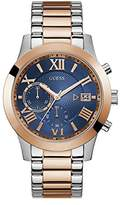 GUESS Men's Stainless Steel Two-Tone Casual Watch
