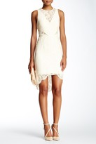 Minuet Lace Cutout Sheath Dress
