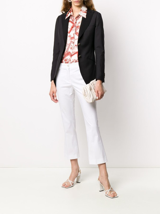 Thumbnail for your product : Maurizio Miri Single-Breasted Tailored Blazer