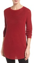 Eileen Fisher Women's Silk & Organic Cotton Tunic Sweater
