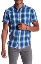 Lucky Brand Plaid Dobby Trim Fit Shirt