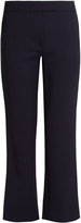 Osman Audrey cropped kick-flare wool-blend trousers