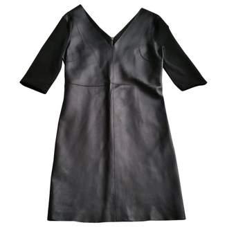 Hotel Particulier Black Leather Dresses