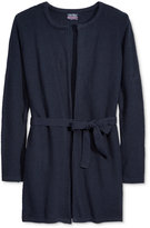 Nautica Uniform Seed-Stitch Duster Cardigan, Plus Girls