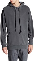Lindbergh Contrast Panel Hooded Sweatshirt