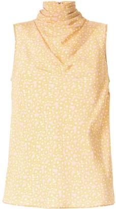Rebecca Vallance Rosette shell top