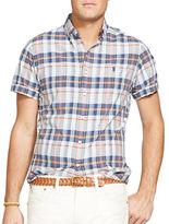 Polo Ralph Lauren Big and Tall Short-Sleeve Madras Shirt