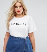 Asos T-Shirt With I Am Woman Print
