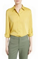Vince Women's Stretch Silk Blouse