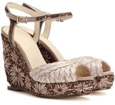 Jimmy Choo Perla 120 Wedges