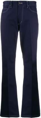 Marni high waisted straight leg jeans