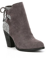 Gianni Bini Lulah Back Lace Up Booties