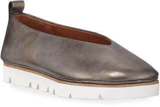 Gentle Souls Demi Metallic Leather Comfort Slip-Ons