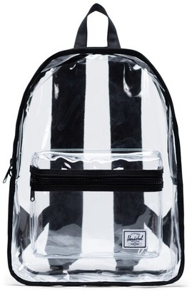 Herschel Classic Clear Mid-Volume Backpack Black