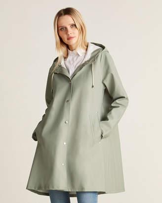 Stutterheim Khaki Green Mosebacke Lightweight Raincoat