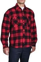 Dickies Doe Skin Button Flannel Shirt M