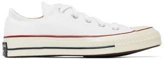 Converse White Chuck 70 Low Sneakers