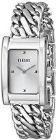 Versus By Versace Women's 3C65400000 Runaway Silver-Tone Watch