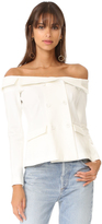 L'Agence Stephan Off Shoulder Top