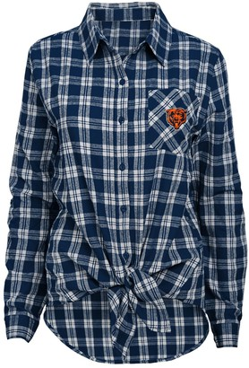 Juniors' Chicago Bears Action Plaid Shirt