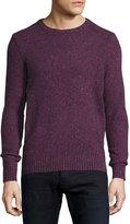Original Penguin Long-Sleeve Crewneck Sweater, Purple