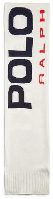 Polo Ralph Lauren Color-Block Logo Sport Scarf