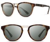 Shwood Men's 'Francis' 49Mm Polarized Sunglasses - Elm Burl / G15