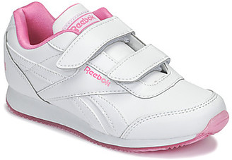 Reebok Classic ROYAL CLJOG girls's Shoes (Trainers) in White