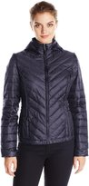 32Degrees Weatherproof Women's Chevron Packable Down Jacket