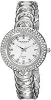 Akribos XXIV Women's AK804SS Metal Watch with Link Bracelet