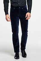 Lands' End Men's 5 Pocket Velvet Slim Fit Pants-Black