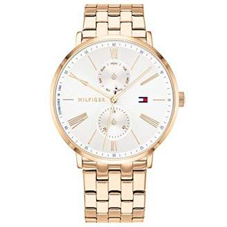 Tommy Hilfiger Womens Multi dial Quartz Watch with Stainless Steel Strap 1782070