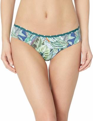 OndadeMar Women's Swamp Medium Coverage Bikini Bottom