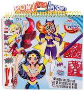Fashion Angels DC Super Hero Girls Fashion Sketch Portfolio