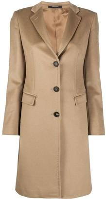 Tagliatore Single-Breasted Wool Coat
