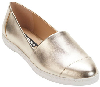 Karl Lagerfeld Paris KL109953 Chespie Light Gold Flat Shoe